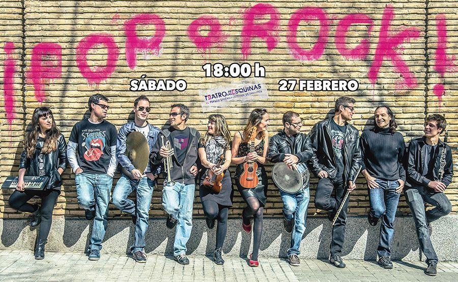 Orquesta de las Esquinas: Pop o Rock?!