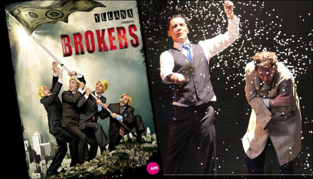 "Yllana presenta: ""Brokers"""