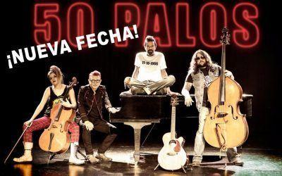 """Jarabe de Palo – Gira """"50 Palos""""  ¡NUEVA FECHA!"""