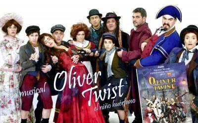"""Scenarte Producciones, presenta """"Oliver Twist, el pequeño huérfano"""""""