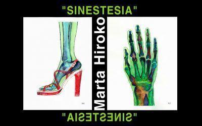 """""""Sinestesia"""" primera exposición individual de Marta Hiroko"""