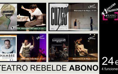 Abono 2º Ciclo de Teatro Rebelde 2019