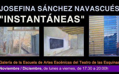 """Exposición de Pintura """"Instantáneas"""" de Josefina Sanchez"""