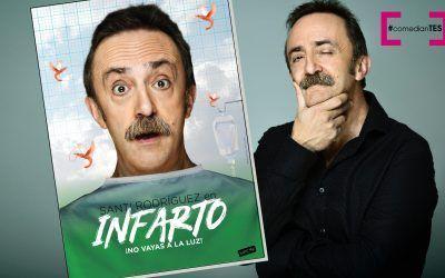 """Santi Rodríguez presenta """"INFARTO ¡no vayas a la luz!"""""""
