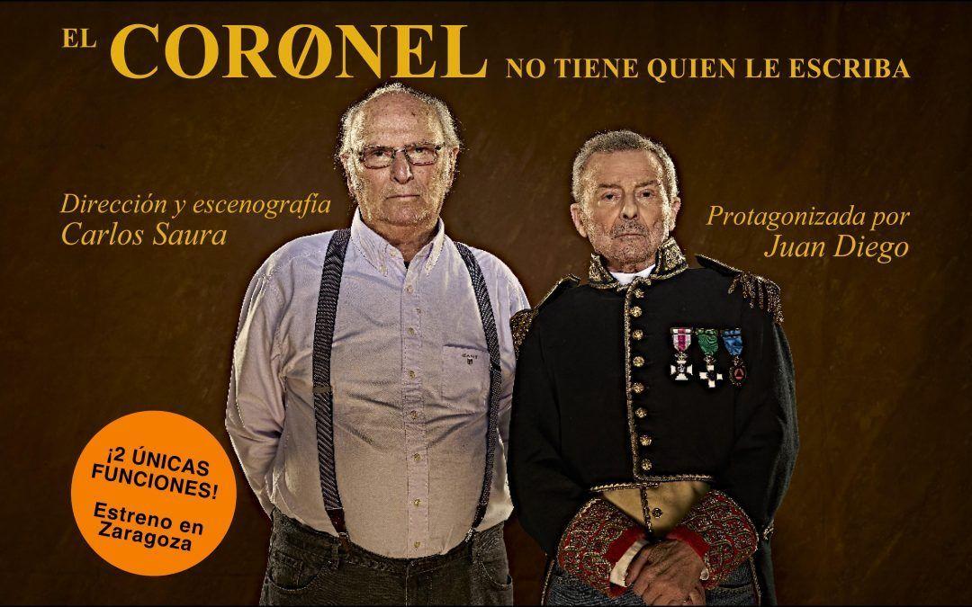 """""""El Coronel no tiene quien le escriba"""" con Juan Diego"""