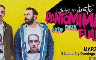 """""""Pantomima Full"""" con Alberto Casado y Rober Bodegas"""