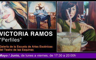 """Exposición de Pintura """"Perfiles"""" de Victoria Ramos"""