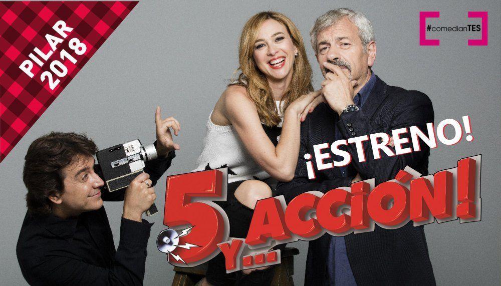 """Función Especial ESTRENO: """"5 y…ACCIÓN!"""""""