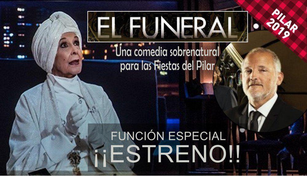 """""""El Funeral"""" con Concha Velasco (Función Estreno)"""