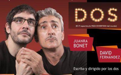 """""""DOS"""" con David Fernández y Juanra Bonet"""