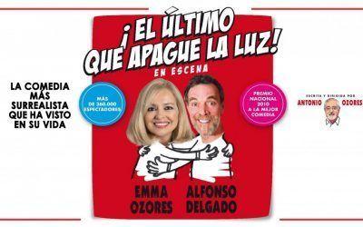 """""""El último que apague la luz"""" con Emma Ozores y Alfonso Delgado"""
