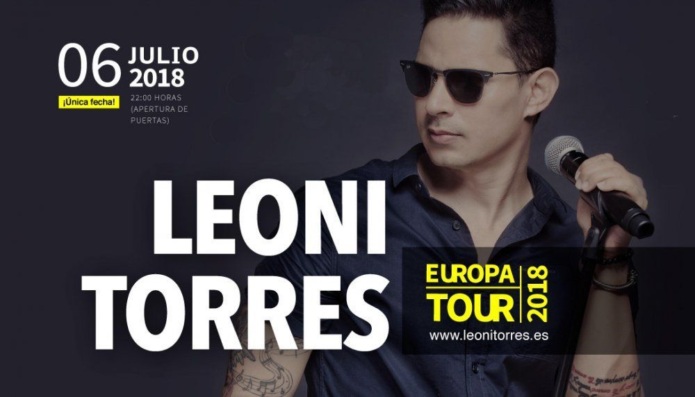 Leoni Torres, Europa Tour 2018