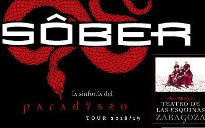 """SÔBER presenta """"La Sinfonía del Paradÿsso Tour"""""""